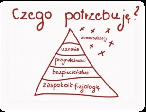 obrazek pokazuje piramidę potrzeb